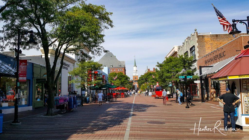 Downtown Burlington, Vermont
