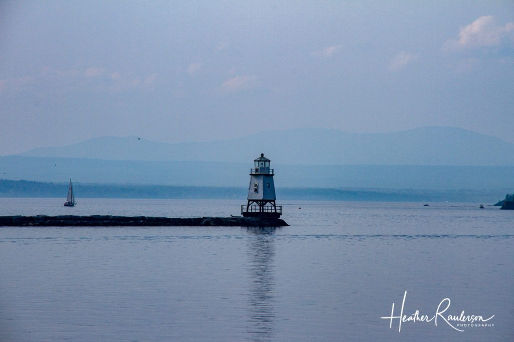 Burlington Breakwater Lighthouse