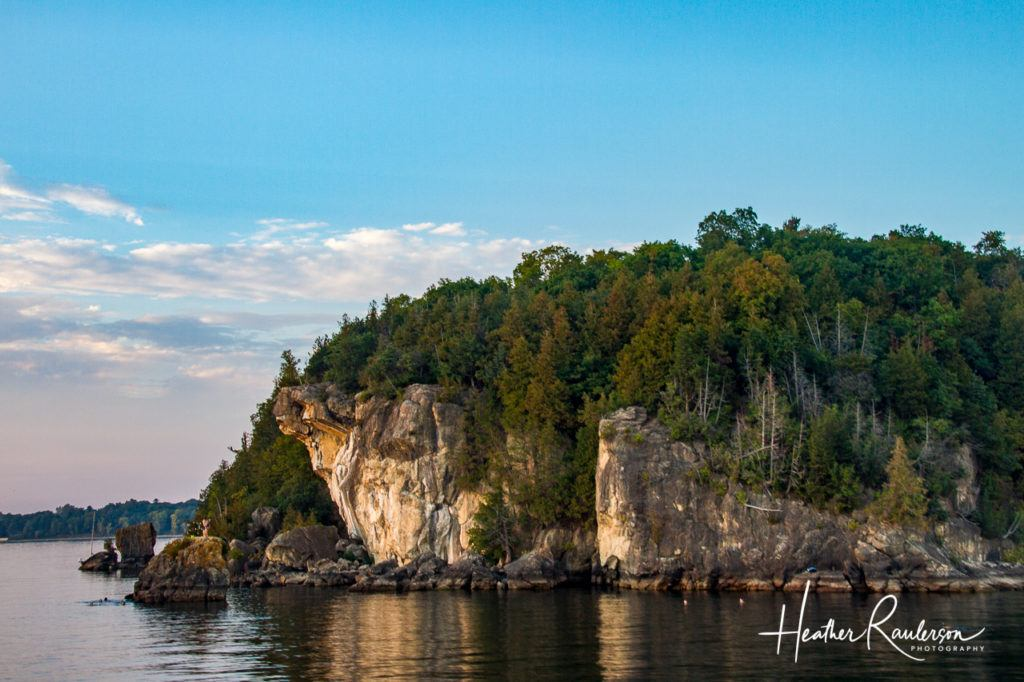 Landscape around Lake Champlain