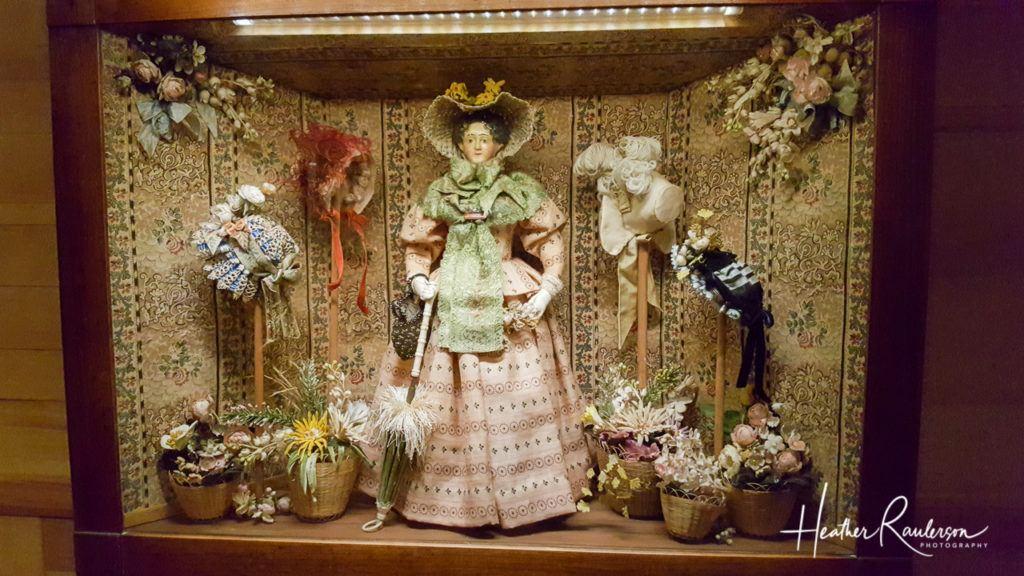 Helen Bruce Miniatures Dioramas - Milliner