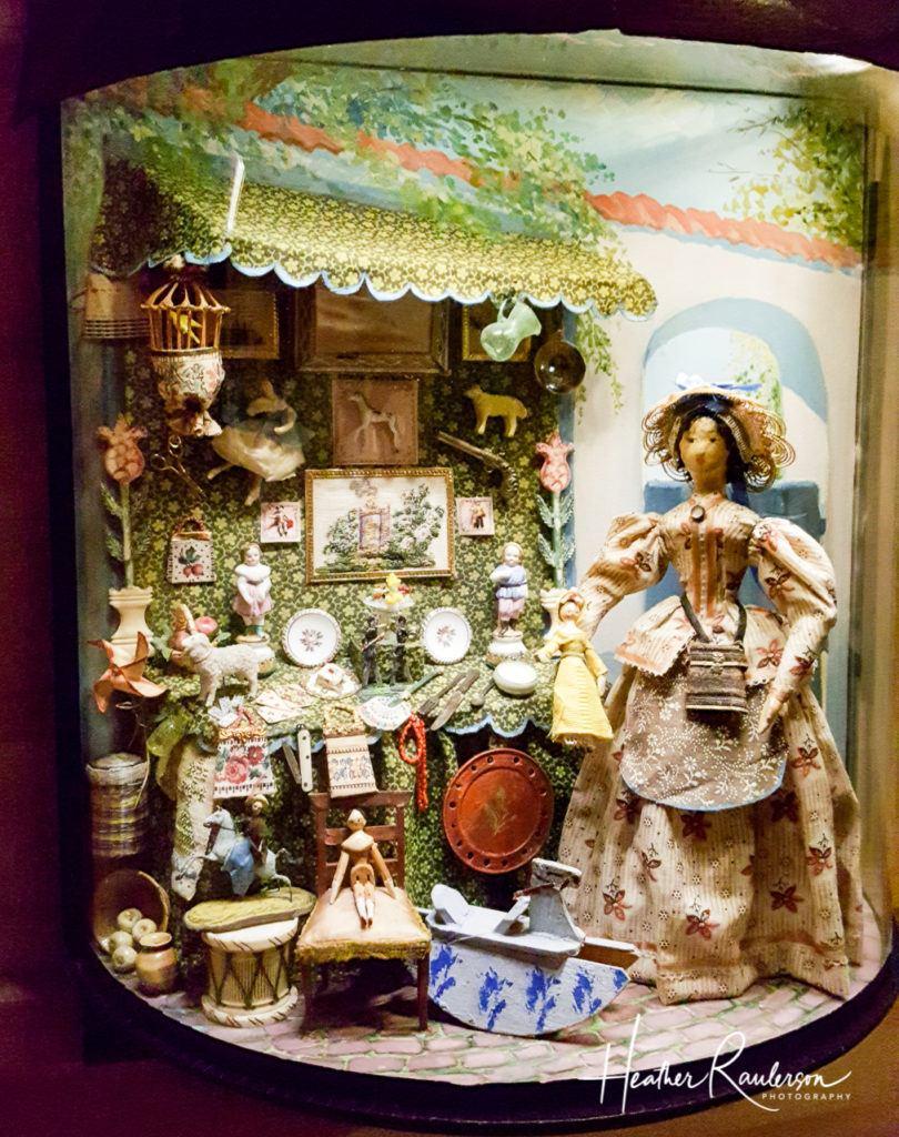 Helen Bruce Miniatures Dioramas - Shop Scene