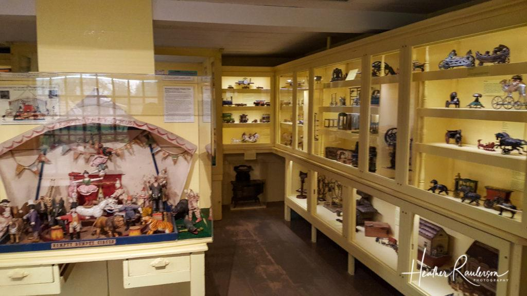 Inside the Toy Shop at the Shelburne Museum
