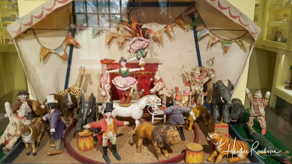 Circus Display in the Toy Shop