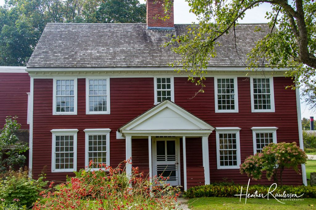 Dutton House at the Shelburne Museum