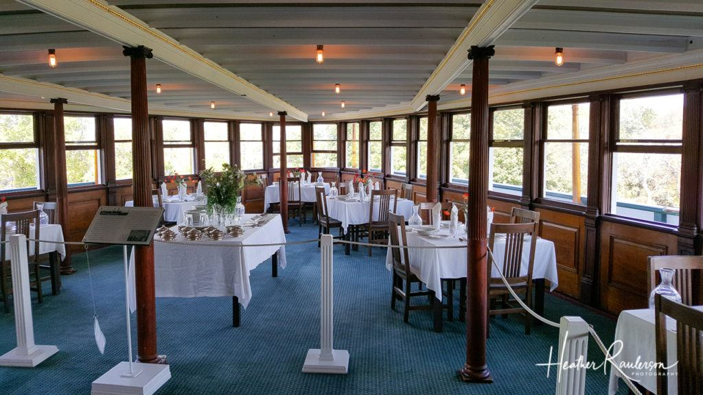 The Dining Room on the Ticonderoga