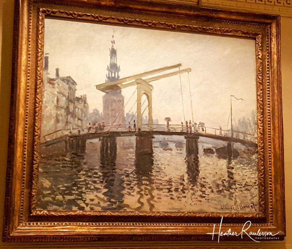 Claude Monet, The Drawbridge, Amsterdam