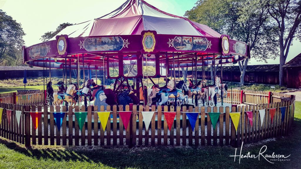 Carousel at the Shelburne Museum