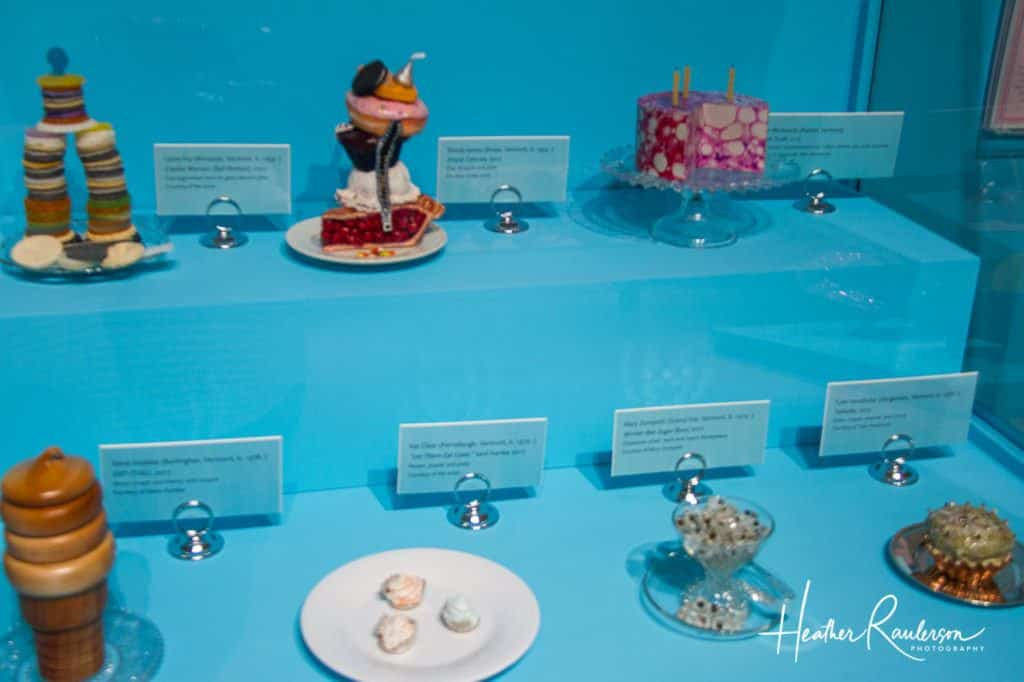 The Art of Dessert exhibits at the Pizzagalli Center for Art and Education