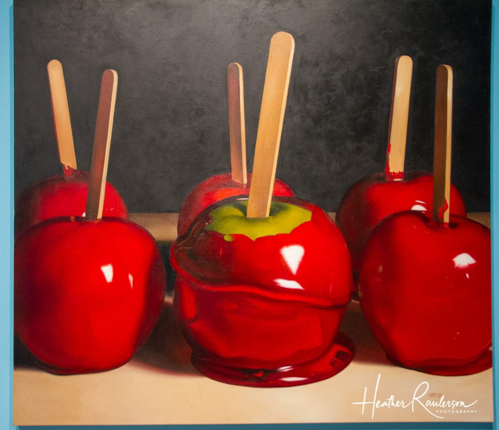 Candied Apple Painting