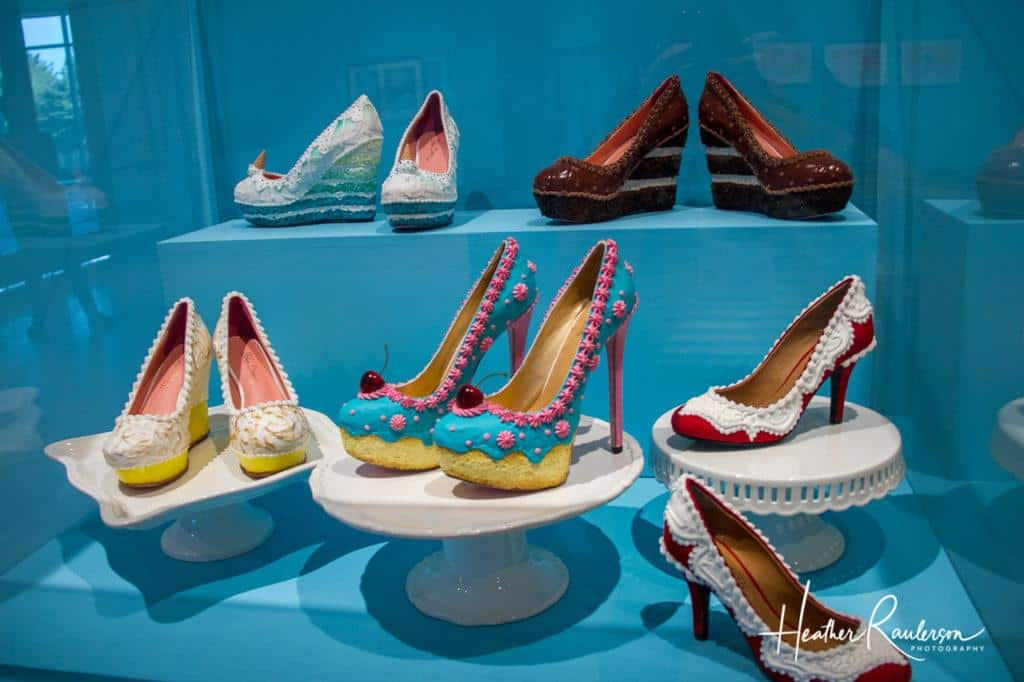 Shoes made out of Chocolate and Sugar