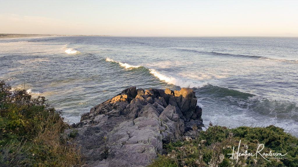 View of the Atlantic Ocean on the Ogunquit Marginal Way