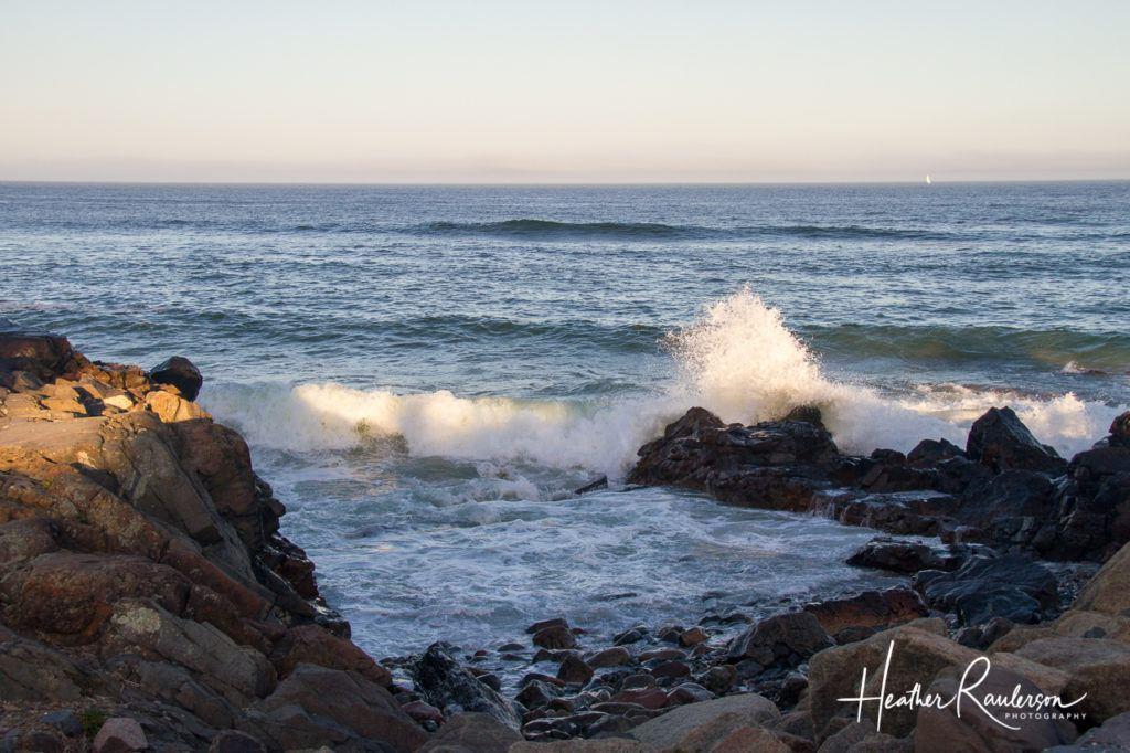Large Wave crashing on a rock