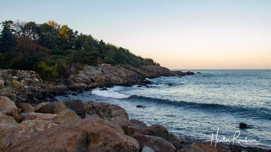 The Rocky Coastline of the Marginal Way