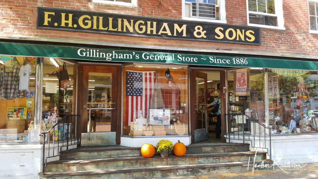 Gillingham's General Store in Woodstock, Vermont