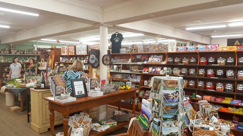 Inside Gillingham's General Store in Woodstock, Vermont