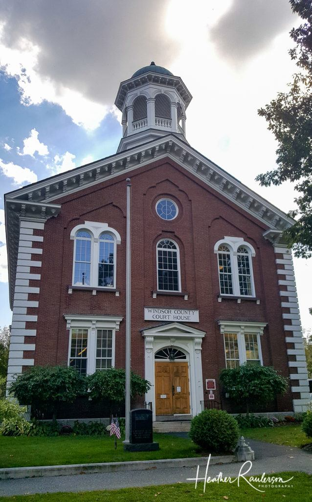 Windsor County Court House in Woodstock, Vermont