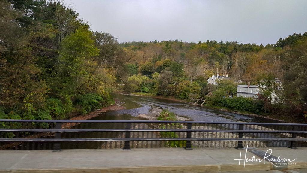 River in Montpelier, Vermont