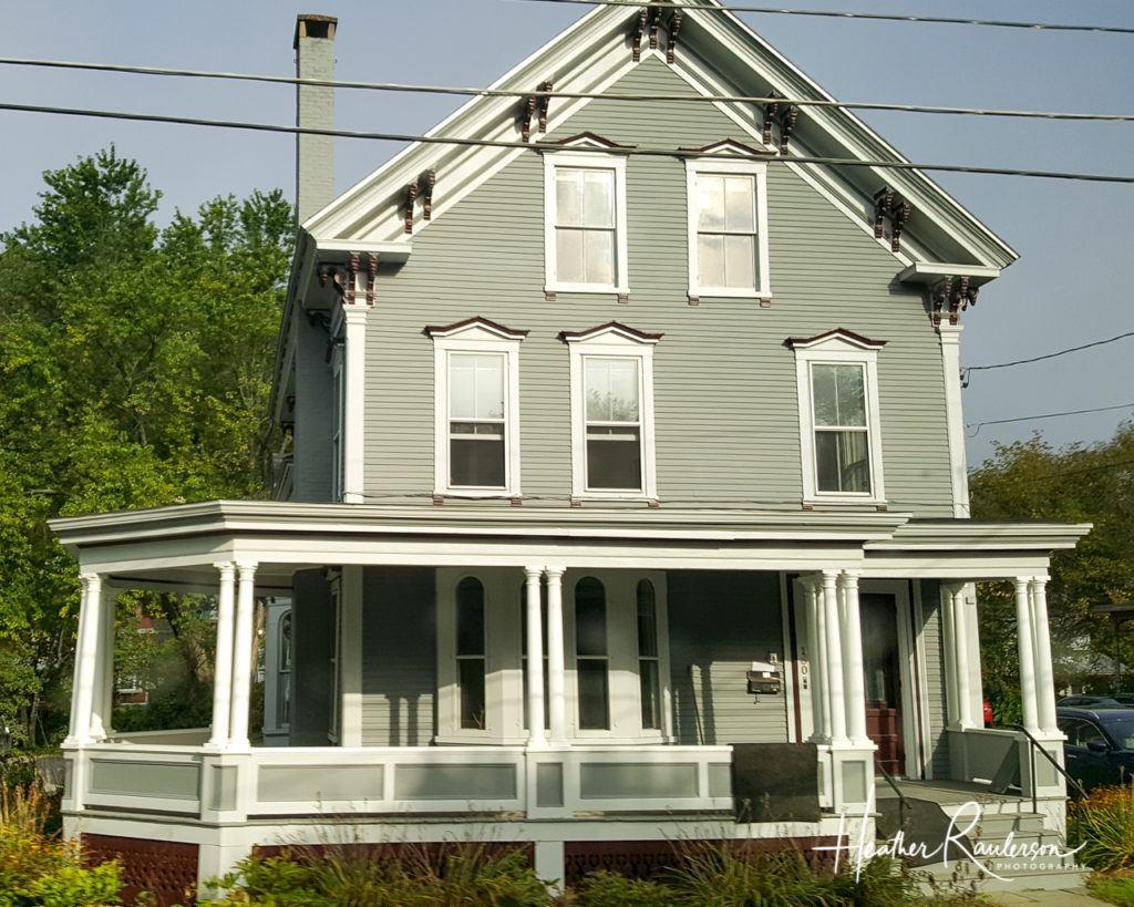 Green house in Montpelier, Vermont