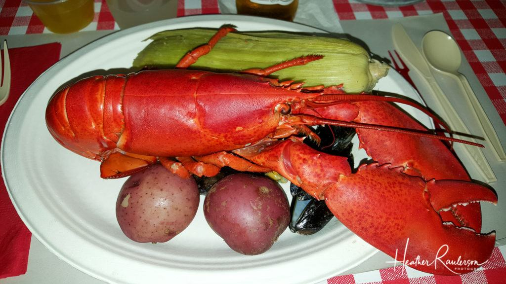 Lobster Dinner at Fosters Clambake