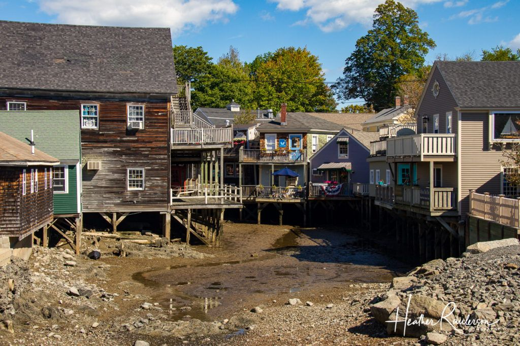 Low tide on the Kennebunkport River