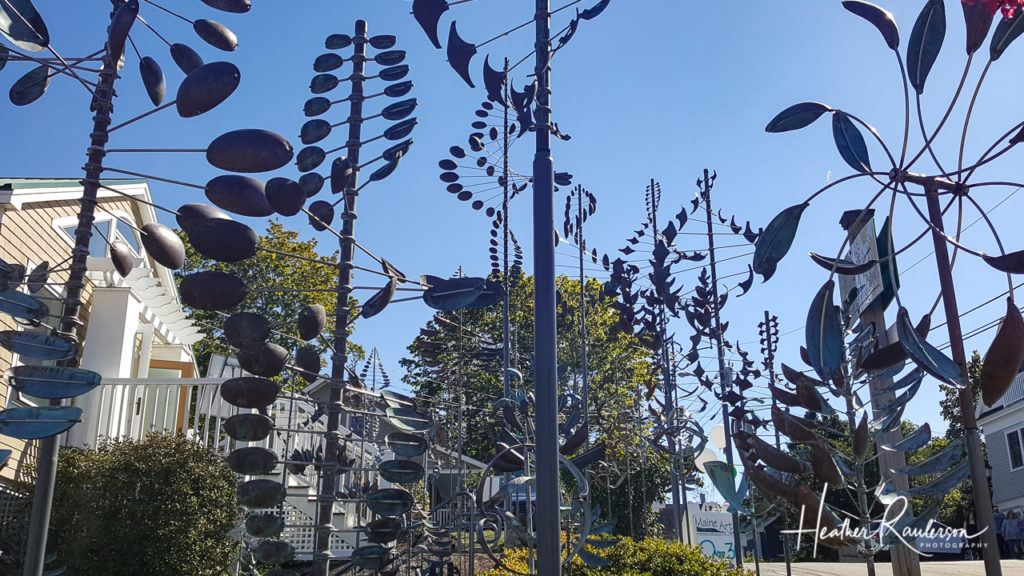 Whimsical Wind Chimes in Kennebunkport