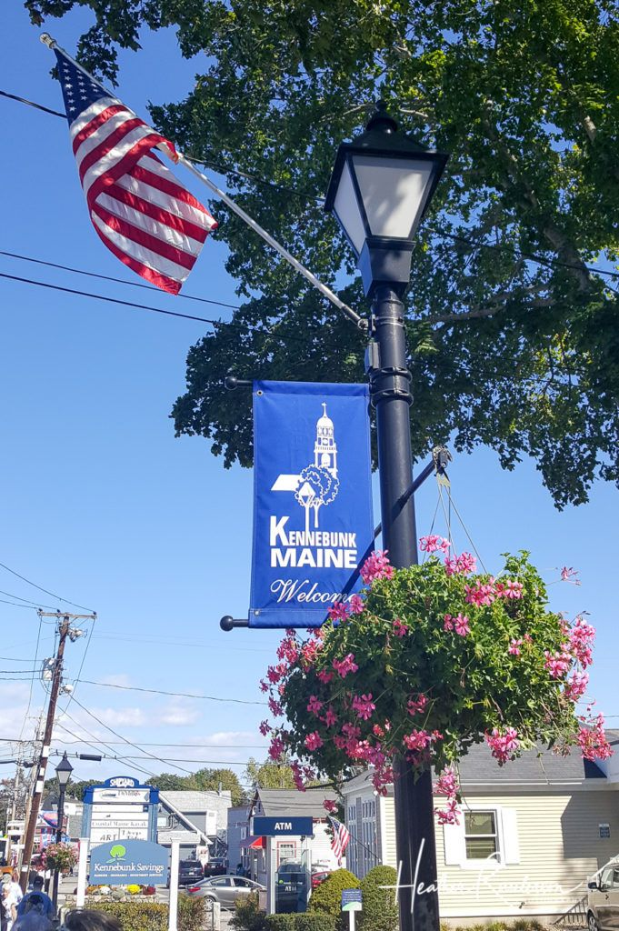 Street in Kennebunkport