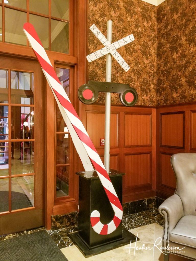Railroad Crossing at the Royal Park Hotel