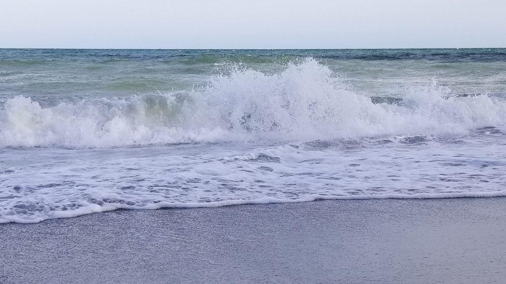 Waves Crashing in Myrtle Beach