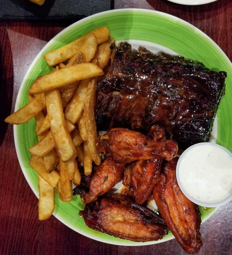 BBQ Chicken and Ribs at Sweet Carolina's