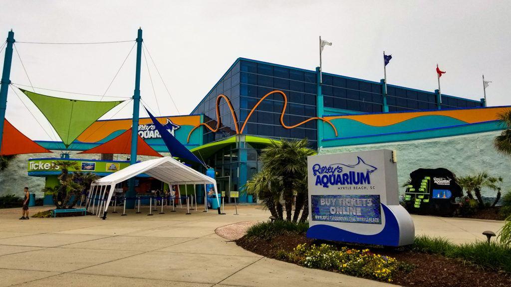 Ripley's Aquarium at Broadway at the Beach