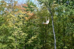 Overcoming the Obstacle of Yourself on a Rope Course - RaulersonGirlsTravel