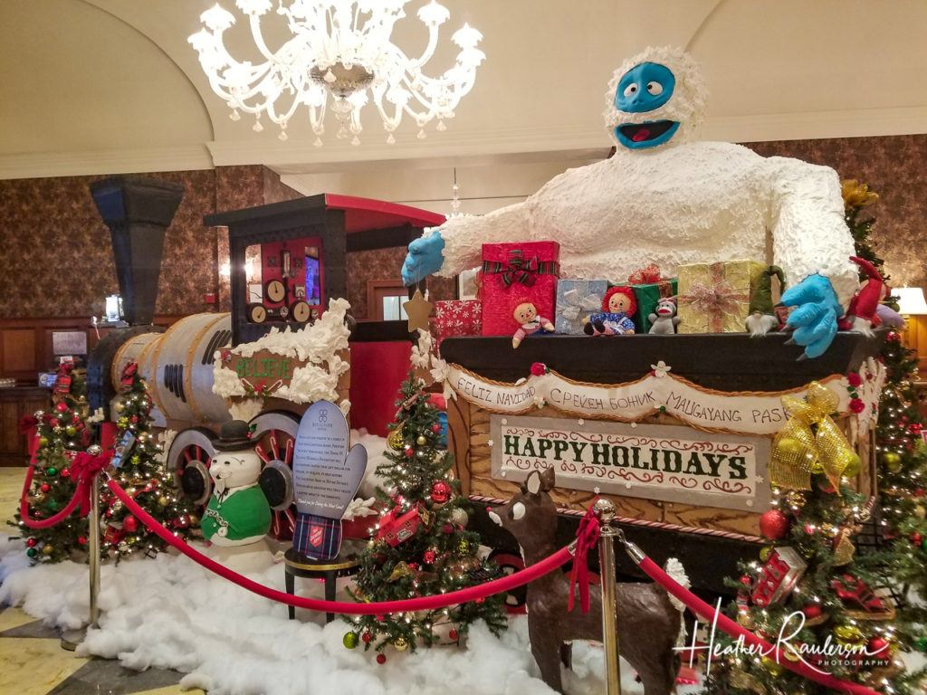 Rudolph's Christmas Train at the Royal Park Hotel