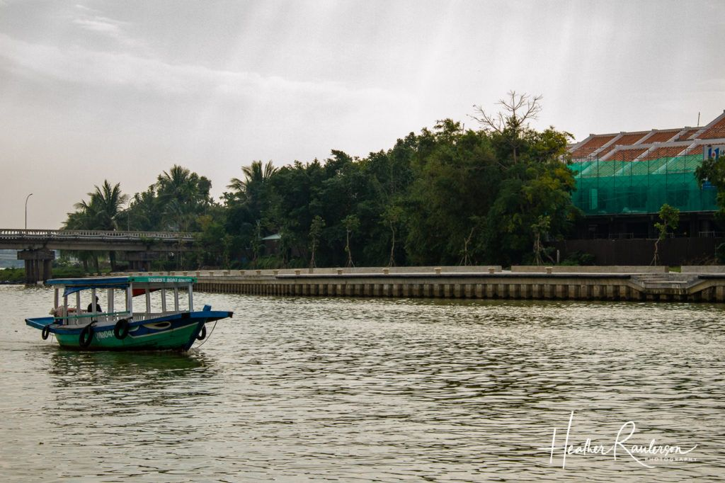 River boat on the Thu Bon River in Hoi An