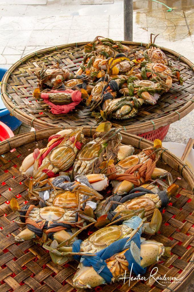 Crabs in an Hoi An Market