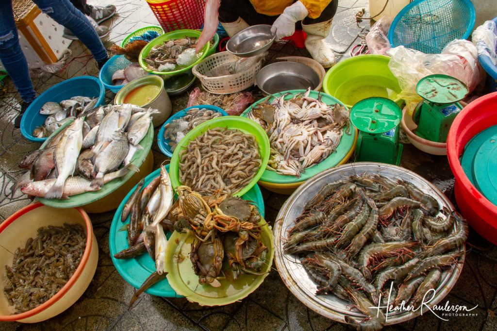Seafood at the Hoi An Market