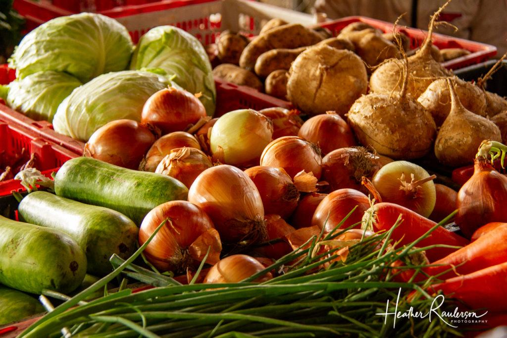 Vegetables in the Hoi An Market