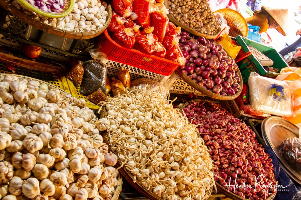 Garlic and Spices at the Hoi An Market