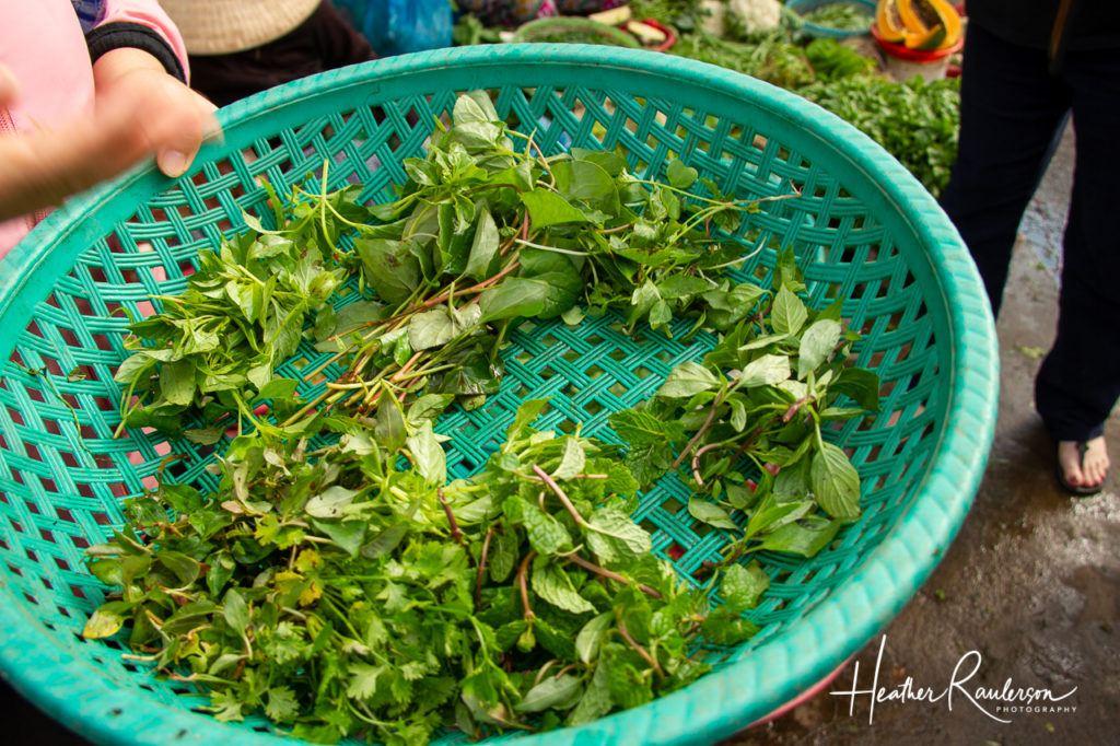 Herbs at the Hoi An Market
