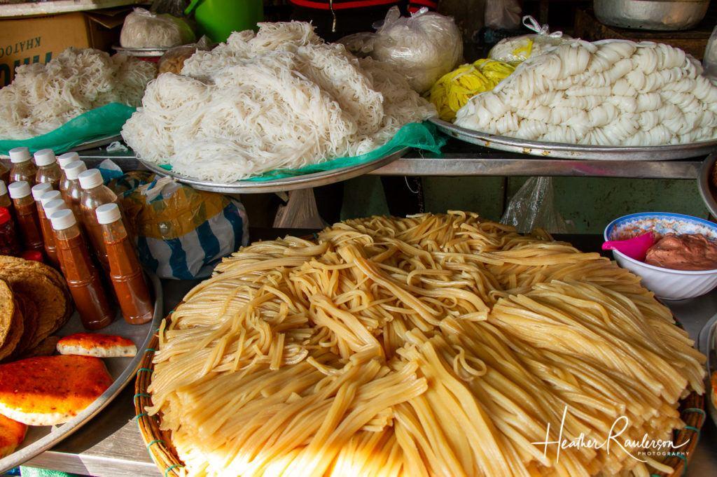 Noodles at the Hoi An Market