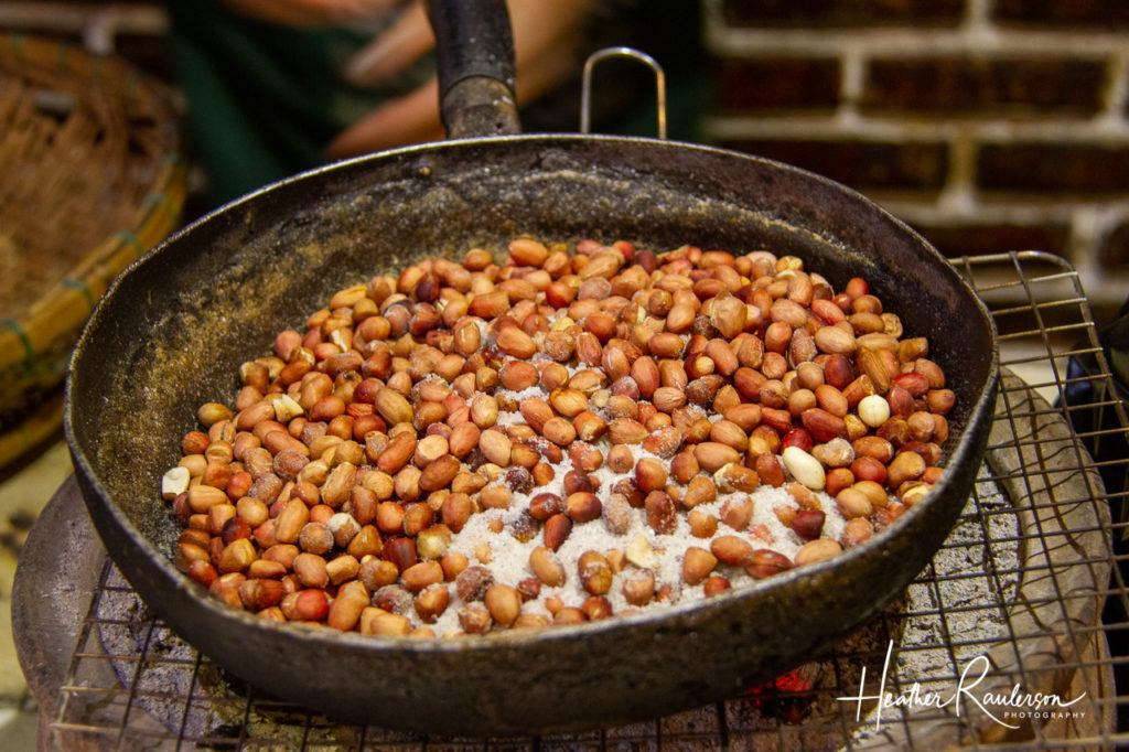 Roasted Nuts at Ms. Vy's Market Restaurant in Hoi An