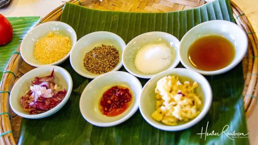 Ingredients for Hoi An Fried Wonton