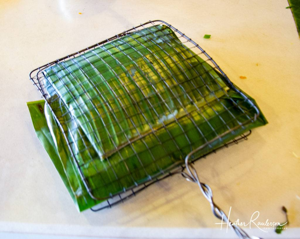 Fish Grilled in a Banana Leaf
