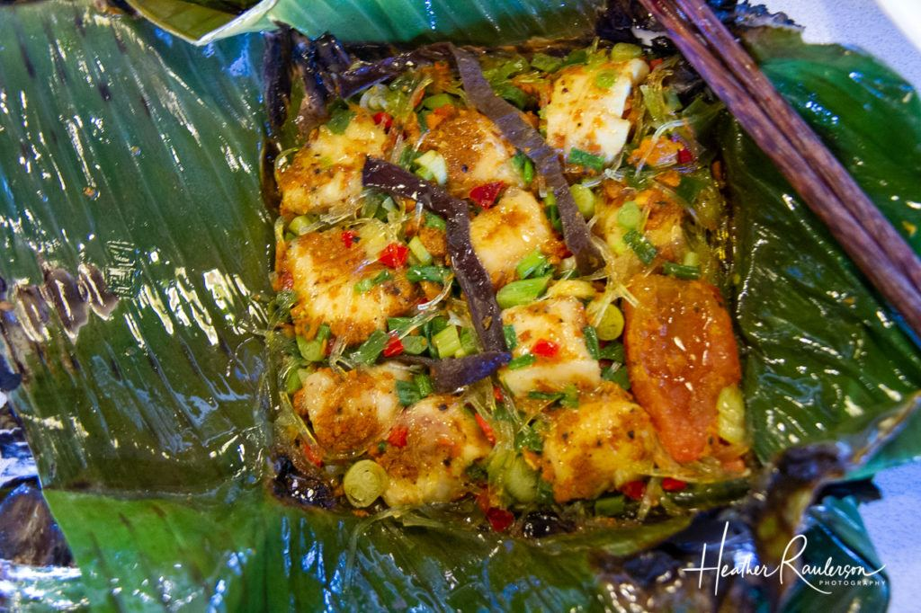 Grilled Fish in a Banana Leaf