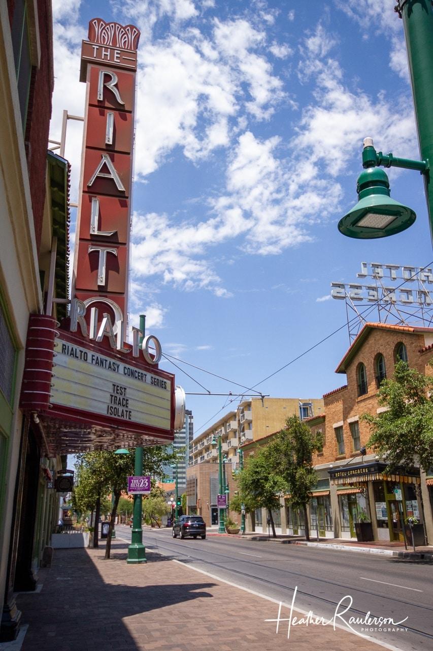 Empty Tucson Street