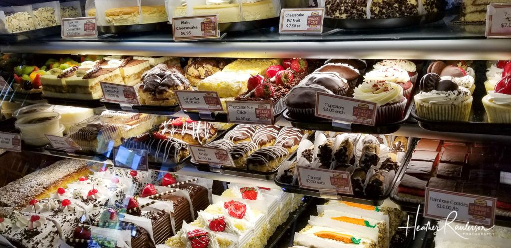 Pastries and Desserts at the Bagel Cafe in Las Vegas