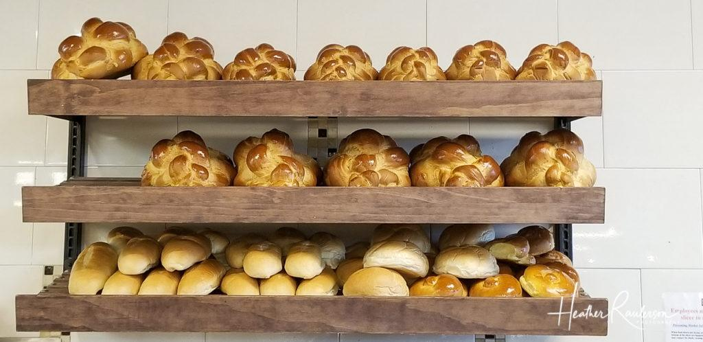 Loaves of Bread at the Bagel Cafe in Las Vegas