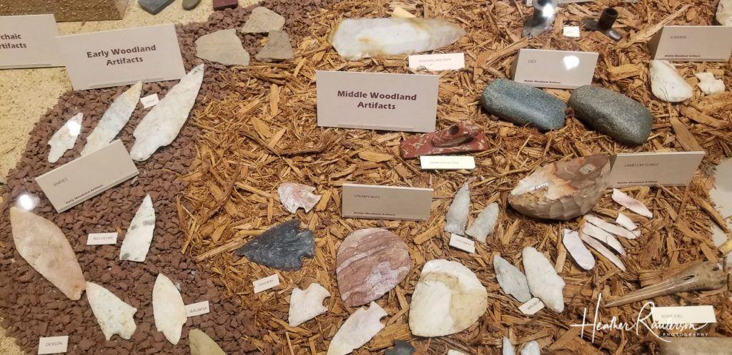 Woodland Artifacts at the Cahokia Interpretive Center