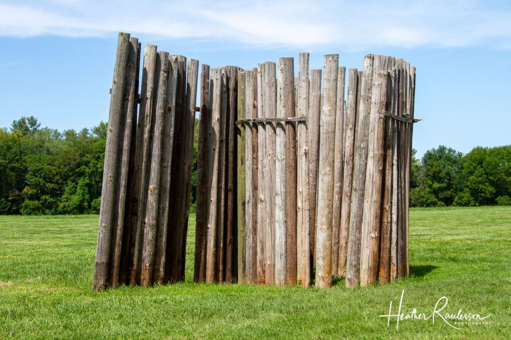 Stockade at the Cahokia Mounds State Historic Site