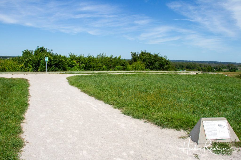 The Fourth Terrace on the top of the Monks Mound