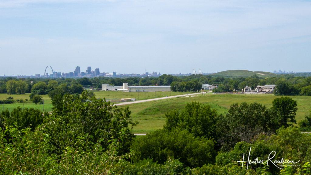 View from the top of the Monks Mound
